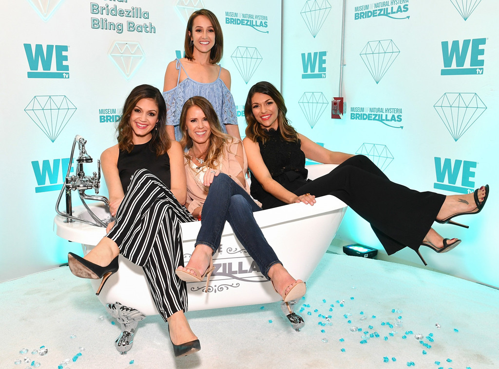 Desiree Hartsock, Ashley Hebert, Trista Sutter, DeAnna Pappas, Bridezillas Museum of Natural Hysteria
